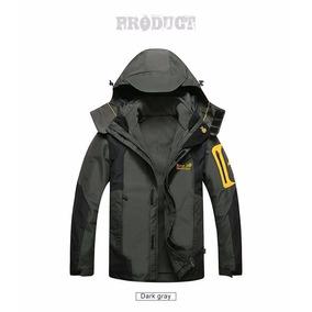 Casaco + Jaqueta Fleece Inverno-30°c Prova Água/vento 3 Em 1