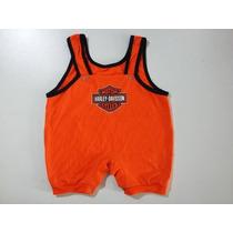 Macacão Moto Harley Davidson Infantil - Bebê - Ropapreta