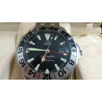 Original Omega Gmt 50 Anos Seamaster Unico No Ml