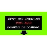 Informes De Dominio Automotor Online