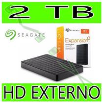Hd Externo 2tb Seagate Expansion 2000gb Portátil 2,5 Usb 3.0