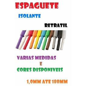 Kit Termo Retratil Tubo Espaguete Isolante 4/6/8/9/12mm 10mt