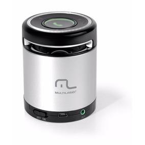 Caixa De Som Bluetooth Sp155 Multilaser 10w Rms Aux Mini