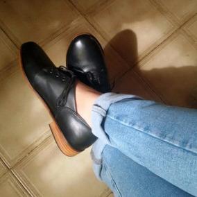 Zapatos Oxford Cuero De Diseño