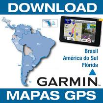 Mapa Gps Garmin Brasil America Sul Florida 2018.10 E Radares