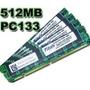 Memorias 512 Mb Dimm Ram Pc133 Sdram 100% Operativas