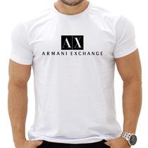 Kit 5 Camisa Camiseta Masculina Armani E Outras Marcas