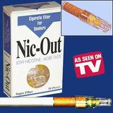 Nic Out, Boquilas Dejar De Fumar 5 Cajas No Electronicas
