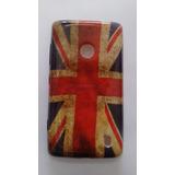Capa Case Capinha Nokia Lumia N520 Bandeira Inglaterra