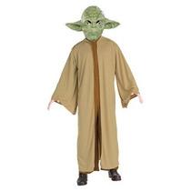 Disfraz Hombre Traje De Yoda De Star Wars Del Hijo, Pequeño