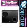 Sub Bajo Amplificado Beta Three Eb118a Nuevos De Paquete