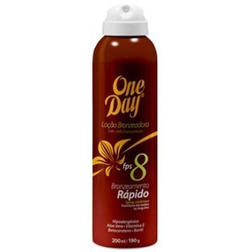 One Day Fps 8 Loção Bronzeadora Spray - Bronzeamento Rápido