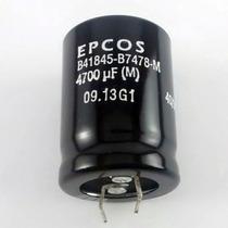Capacitor Eletrolítico 4.700uf X 63v *4700uf X 63v 85° Epcos