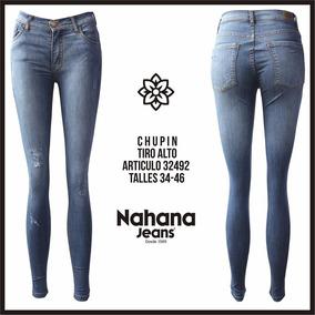 Jeans Chupin Elastizados Nahana Talle 42 - 44