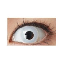 Olhos Cosplay - Lens Branca - Zombie Halloween!!