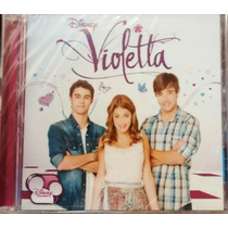 Violetta Cd Violetta 1er Cd Nuevo Cerrado Disney Oca Mp Me