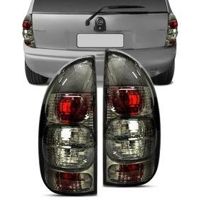 Lanterna Tuning Corsa Pick - Up 4p Wagon Cromo E Fume