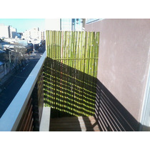 Cañas/bambu,cercos,balcon Y Division,coloc Y Envio.