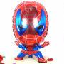 Globo X 10 Hombre Araña Souvenirs Mas Varillas, Spiderman