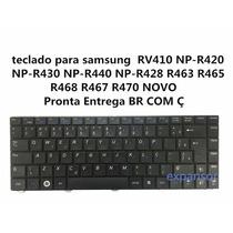 Teclado Para Samsung Np-r430 Np-r440 Rv410 Np-r420 Np-r428 Ç