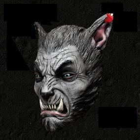 Mascara Hombre Lobo Halloween Miedo Realista Terror Disfraz