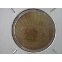 Moneda Uruguay 10 Ctvos. Peso De 1936