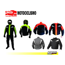 Chamarra Para Motociclista Con Protecciones Mod Colmillos