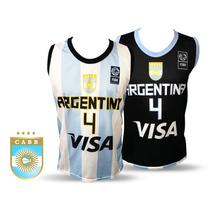 Camiseta Seleccion Argentina Basquet P/adulto Niño Basket