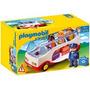 Playmobil 6773 Autobús + 4 Figuras Y Accesorios Serie 1.2.3.