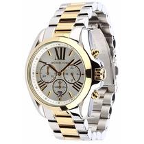 Relógio Michael Kors Mk5627 Prata E Dourado Original Em 12x