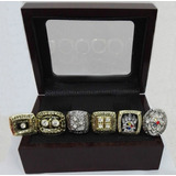 Steelers Pittsburgh Anillos Superbowl Nfl Colección Futbol