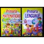 Oferta :2 Libros Para Docentes Primaria Matematica Lenguaje