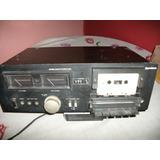 Antigo Tape Deck Gradiente Receiver Stereo Cassette Mod-s106
