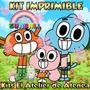 Kit Imprimible El Increíble Mundo De Gumball Tarjetas 2x1