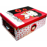 Caja Plastica Betty Boop - Minijuegos