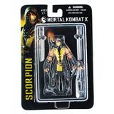 Mezco Mortal Kombat X Scorpion 10cm Articulado