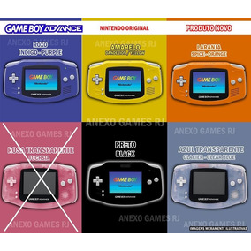 Kit Game Boy Advance Novo Na Caixa + 1 Pokemon Pronta Entreg