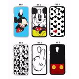 Capinha Capa Case Celular Mickey Minnie Galaxy Note 2 3 4 5