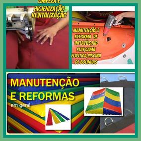 /manutenção Reforma Conserto Brinquedos Inflaveis Cama Elast