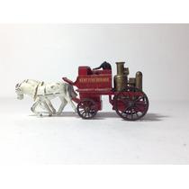 Carrinho Carruagem Velho Oeste Kent Fire Brigade Lesney 4