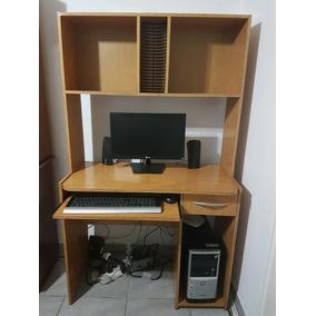 Mueble De Computadora Monitor Parlantes Teclado Y Mousse