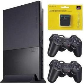 Playstation 2 Slim Destravado Completo Novo