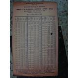 Horario De Trenes Ferrocarril D. Sarmiento 14/12/1964 (c2)