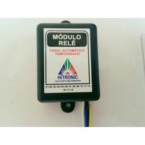 Módulo Relé Farol Baixo Automático Temporizado - 10 Segundos