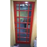 Porta De Madeira Cabine Telefonica De Londres Em Imbuia