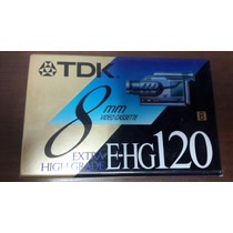 Video Cassette Tdk 8mm 120 Minutos