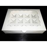 Caja Para 12 Bombones, Chocolates, Trufas, Conservas