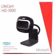 Web Cam Microsoft Lifecam Hd-3000 Usb 720p Hd 30fps Microf
