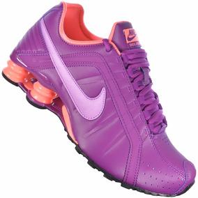 Tênis Nike Shox Junior 454339 502 Feminino Original + Nf