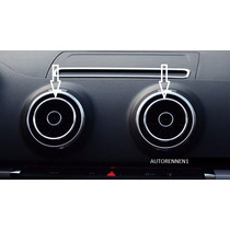 Embellecedor Audi A3 Sedan Ventilas Aire Cromadas Sline